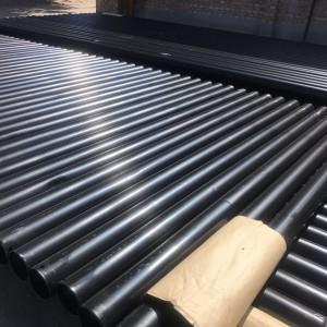 甘肃兰州轩驰牌DN50-219热浸塑钢管厂家内外涂塑质优价廉