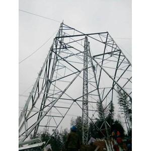 铝合金格构式内悬浮抱杆8米10米12米框式人字独脚扒杆