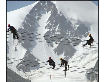 """西藏<em>电力</em>""""<em>天路</em>""""西行 世界海拔最高输变电工程开工"""