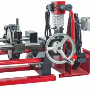 PE管热熔对焊机小管径专用200-63两环手动手摇