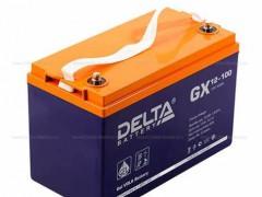DELTA蓄电池GX12V100AH蓄电池参数规格及报价