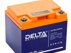 DELTA蓄电池GX12-40 12V40AHAH蓄电池参数
