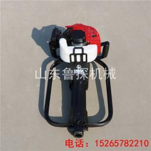 土壤检测取样钻机厂家 QTZ-2便携式钻探机