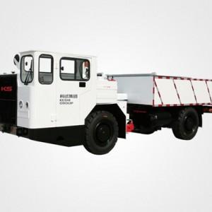 无轨胶轮车失速保护跑车防护装置