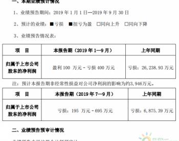 <em>向日葵</em>:前三季度<em>净利润</em>为-400万元至100万元