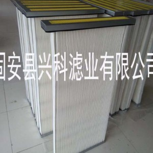 兴科板框除尘滤芯聚酯纤维板框过滤芯厂家