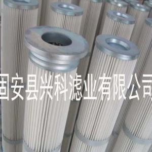 兴科2米除尘滤芯2米工业滤芯铁盖胶盖滤芯厂家