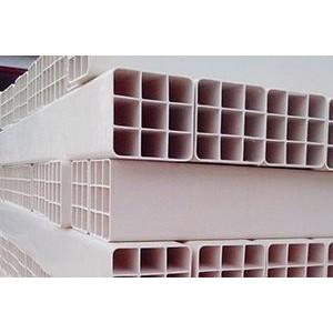 162高强度九孔格栅管北京轩驰厂家现货供应PVC格栅管