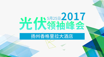 2017 中国光伏领袖峰会——扬州论坛
