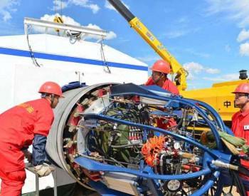 <em>山东液化天然气</em>(LNG)二期工程首台TK-6号罐钢穹顶片吊装圆满完成