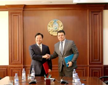 中国石油就油气合作在哈签署两项合作协议