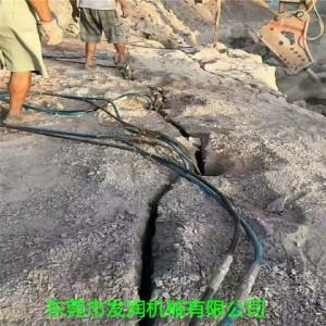 静态爆破岩石膨胀开山必备机械