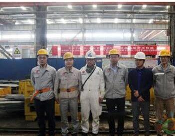 东南造船一艘9000吨成品油船开工