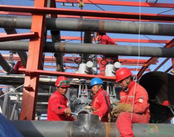 西北油田替代索拉机组余热锅炉供热改造工程已完成90%