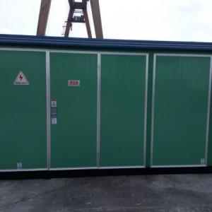 YBM-12/0.4-630KVA高低预装箱变电站