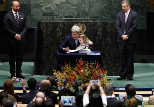川普宣布美国退出《巴黎协定》 联合国:不为美国再启谈判