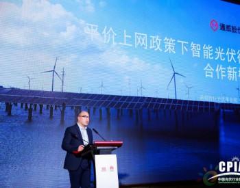 通威股份光伏事业部部长张凡:智能光伏行业合作模式需要更多创新