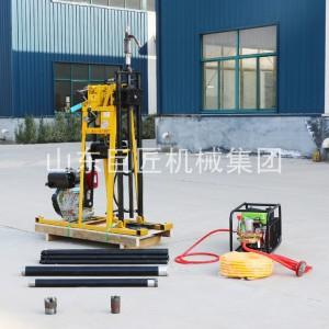 小型轻便液压钻机柴油动力扭矩大巨匠牌岩心液压钻机
