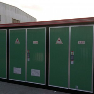 ZBW-12/0.4-500KVA箱式变电站防水散热