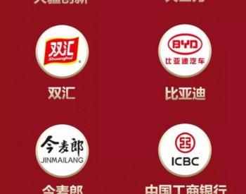 中国中车、中国石油、中国石化等7家风电企业入围2019中国品牌强国盛典榜样100<em>品牌榜单</em>