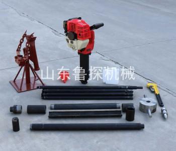 环保<em>检测</em>无扰动<em>土壤</em>采集器小型手持式地勘取样QTZ-2取土钻机