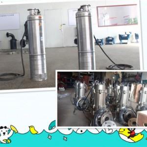 WQ[380V]系列自动搅匀不锈钢潜水排污泵