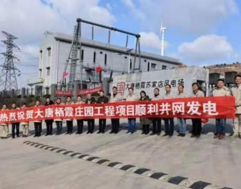 山东省内单机容量最大山地风电场大唐栖霞庄园风电工程项目一次并网成功