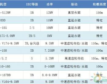 2019年全球海上风电十佳机型发布 中国制造占半数