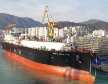 大宇造船为Flex <em>LNG</em>建造17万方<em>LNG</em>船下水