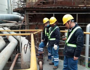 天华集团合成装置高温变换炉R2催化剂除灰工作顺利完成