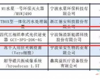 """含金量爆表的年度榜单2019""""浙江制造精品""""官宣,锦浪科技榜上有名"""