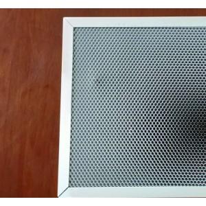 贝森环保高效铝蜂窝芯基材光触媒(白色)催化过滤网