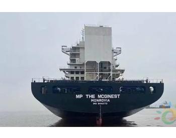 浙能迈领交付新年第一套船舶脱硫装置