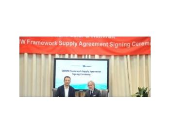 <em>苏美达</em>辉伦与德国Wattkraft公司成功签署500MW年度合作协议