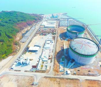 中海油漳州<em>LNG</em>一号<em>储罐</em>成功升顶