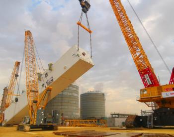 """全球最大4000吨级履带式起重机在<em>沙特</em>化身""""大国重器"""""""