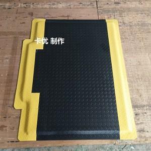 流水线防疲劳垫,全绿耐用抗疲劳脚垫,导电地垫厂
