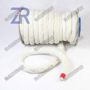 陶瓷纤维扭绳 炉门密封绳 耐高温防火盘根