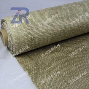 陶瓷纤维蛭石布 防火布 耐高温隔热布 陶纤增强布