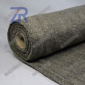 陶瓷纤维烧结布 无烟无尘非石棉隔热 防火布