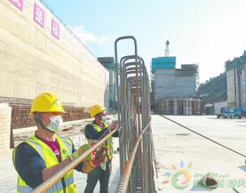 福建闽江水口水<em>电站枢纽</em>坝下水位治理与通航改善工程恢复施工