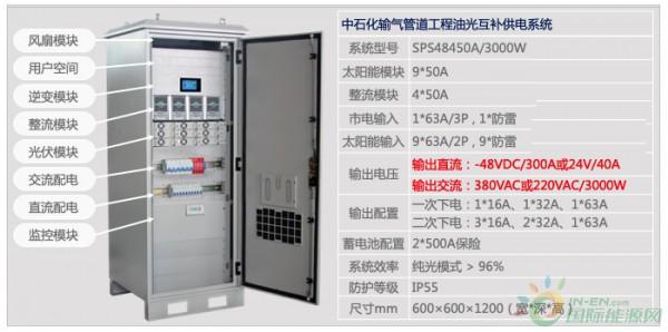 中石化输气管道工程太阳能发电系统