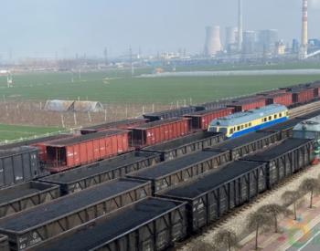山能枣矿铁运处防运并举保障煤炭运输