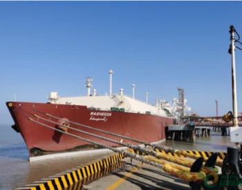 <em>LNG</em>气源不断 如东洋口港外输1.2亿立方米天然气保供应
