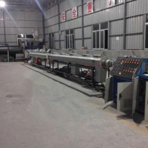 HDPE埋地检查井缠绕管生产线厂家价格