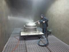 不锈钢制品专用喷砂机