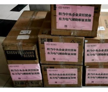 <em>东方电气集团</em>向武汉捐赠一批防疫物资