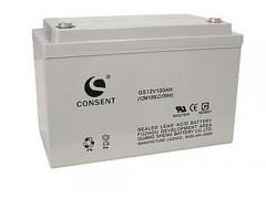 CONSENT光盛蓄电池GS12V100AH报价