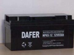 DAFER德富力蓄电池NP65-12,12V65AH代理