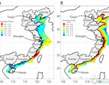 研究发现<em>海上风力发电场</em>可以为中国沿海地区供能